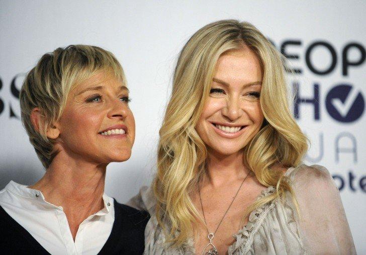 Ellen Degeneres and Portia De Rossi 660 reuters