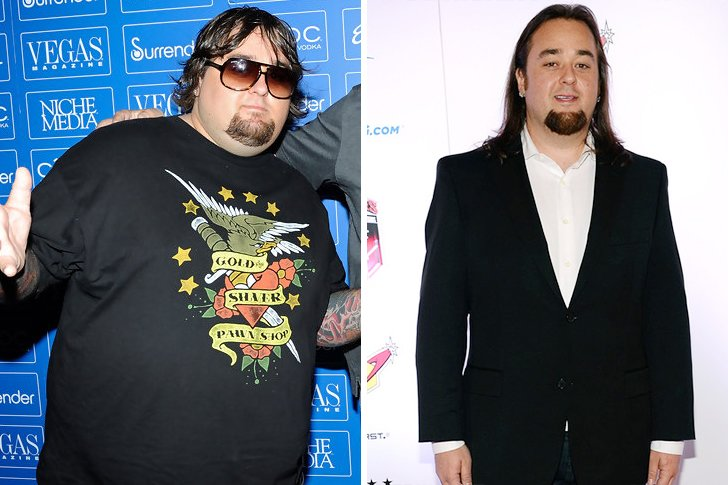 chumlee weight loss before and after