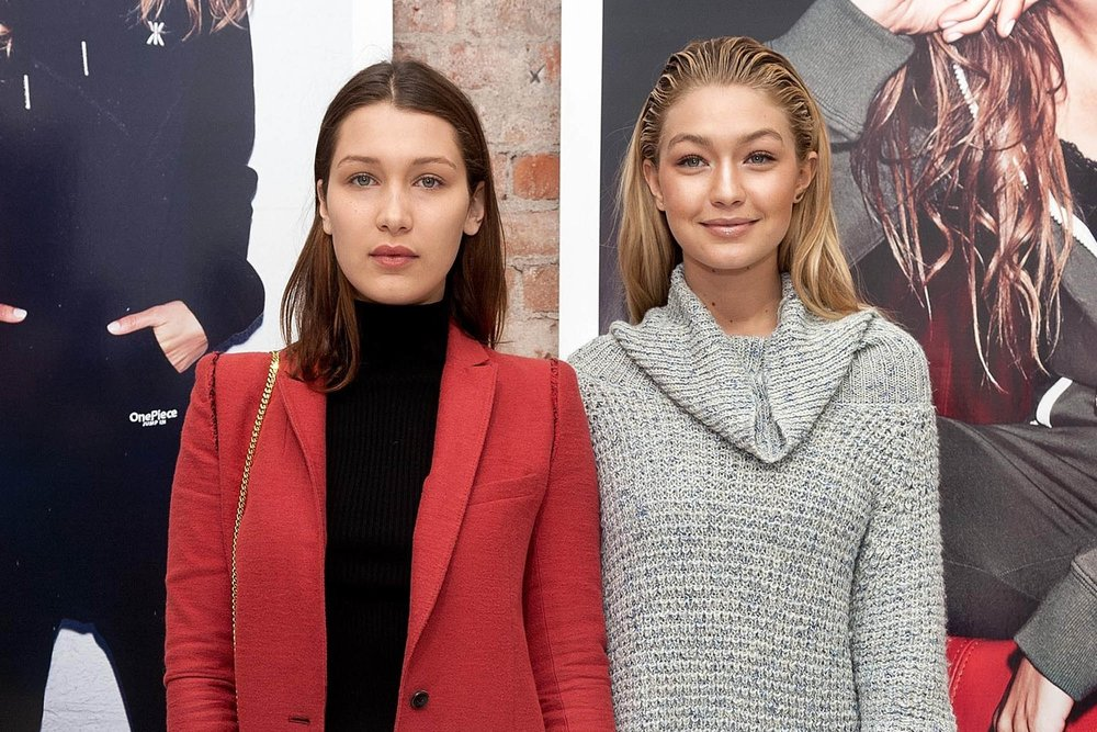 Bella and Gigi Hadid Have a Sister Style Moment in Silver and Gold