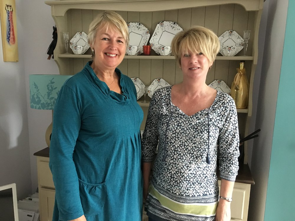 Ann Pierce-Jones On The Right Was One of the Victims of Dystonia