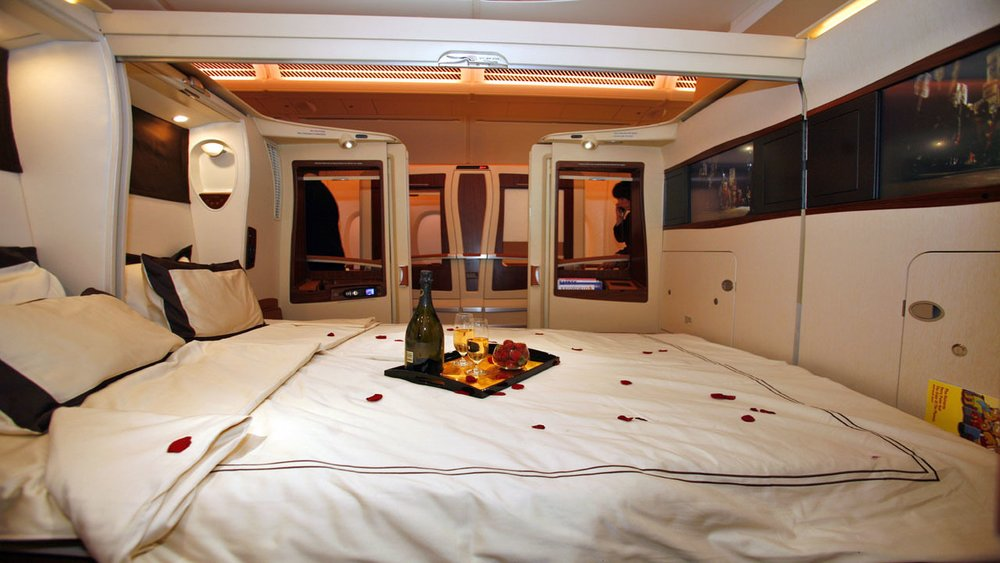 Check out Singapore Airline's Newest Luxury Suites - Medicare Granny